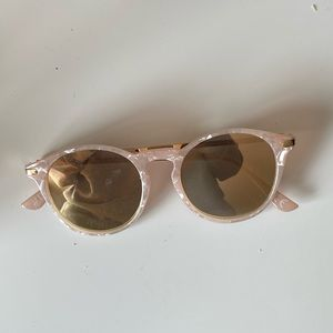 H&M Pink Marble Sunglasses